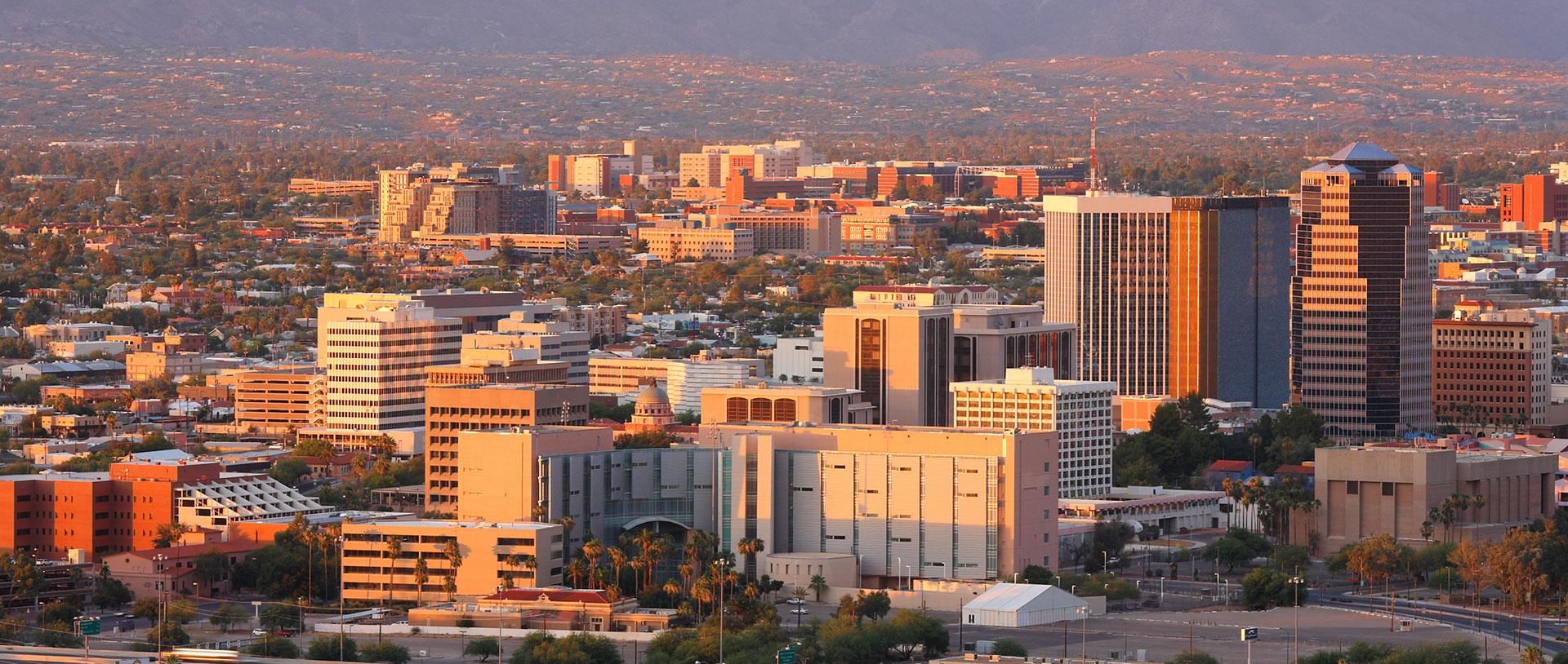 Tucson Arizona skyline